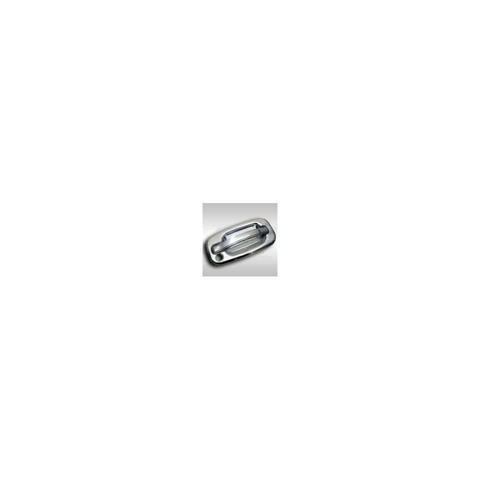 2000 2006 Chevy Silverado/GMC Sierra S.E.S Trims® Chrome Door Handle Covers (2 DR   W/ or W/O Passenger Keyhole)