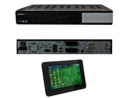 Venton UniBoX HD3 1xDVB-S2 HDTV Linux Sat Receiver inkl. IconBIT NETTAB MATRIX ULTRA Tablet