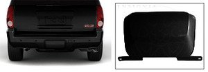 2008-2013 Chevrolet Tahoe and Suburban Trailer Hitch Cover by GM 19172860