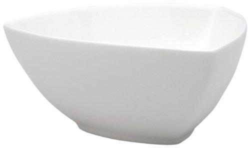 Red Vanilla Vanilla Fare Medium Triangle Bowl front-320895