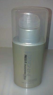 Regis Designline Press It Straightening Cream Medium Hold 3.4 Oz