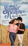 Just a Summer Romance (0823406490) by Martin, Ann M.