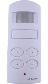 Motion Activated Alarm W/ Keypad