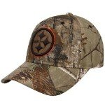 Reebok Pittsburgh Steelers Realtree Structured Adjustable Hat Adjustable