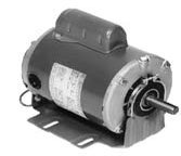 Marathon B318 Fan and Blower Motor, Single/Split Phase, Protection - None, 3/4 hp, 1725 rpm, 115/208-230V, 10.0/5.2-5.0 amp by Marathon Electric