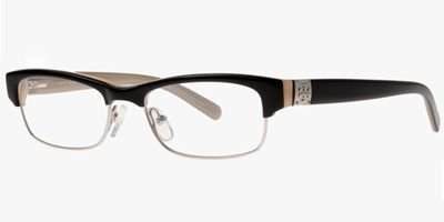 Tory Burch Tory Burch TY2018 983 Eyeglasses Black/Parchment 49-17-135