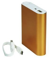 UVAA P1000 Start 10400 mAh Power Bank and 6 month Warranty silver colour