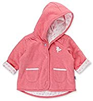 Hooded Seagull Motif Reversible Jacket