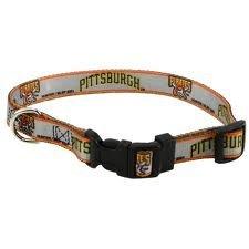 Hunter MFG Pittsburgh Pirates Dog Collar, Medium