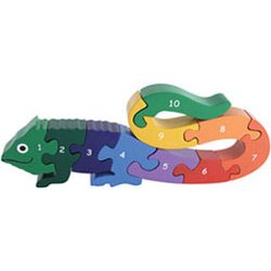 Cheap Fun Imagiplay Number Iguana Puzzle (14941) (B000GEFGS6)