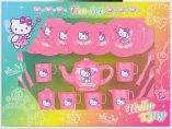 Hello Kitty Plastic Tea Set Fairy Design