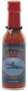 Captain Redbeard Garlic Pepper Sauce w/ Shark Teeth from Captain Redbeard
