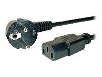 Dexlan Cordon électrique secteur standard 1.8 m Noir
