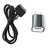 Wall Ac Power USB Adapter Charger & Cable Charging Cord for Barnes and Noble Nook Hd 7