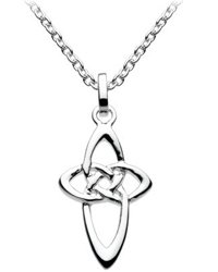 Kit Heath Sterling Silver Pointed Celtic Cross Necklace