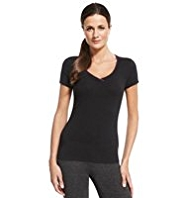 M&S Collection Active Performance Cotton Rich T-Shirt