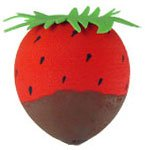 Strawberry Dipped in Chocolate Antenna Ball Topper
