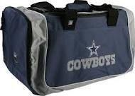 Dallas Cowboys NFL Roadblock Duffle Bag by Concept 1