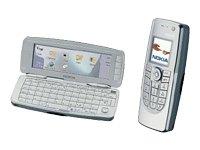 Nokia 9300 - Téléphone intelligent (smartphone) - GSM - clapet (escamotable) - Symbian OS - argenté(e)