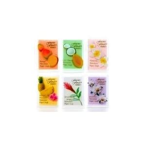 Hawaiian Paper Soap Assorted 6 Pack on Amazon.com - Great Promotional Products