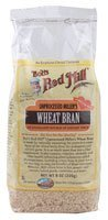 Bob's Red Mill Unprocessed Miller's Wheat Bran -- 8 oz - 1