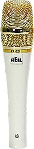 Heil Sound Pr-20W White Pearl Special Edition Handheld Dynamic Microphone