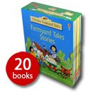 USBORNE FARMYARD TALES Boxed Set - The Complete Set of Twenty Charming Stories All About Apple Tree Farm H Amery & S Cartwright