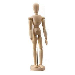 デッサン人形としてもGood 14の関節で多彩なポーズを演出 インテリア人形
