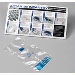 ACTAR 911 Infantry Disposable Lungs - 100/PK (SA-58625) Infantry Manikins.