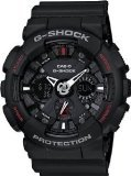 Men's Black G-Shock Analog Digital Anti-Magnectic (model number GA-120-1ADR) (Amazon G Shock compare prices)