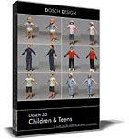 Dosch 3D: Children & Teens front-52089