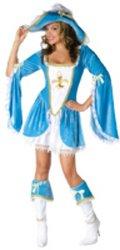 Madam Musketeer Adult 10-14 Costume PROD-ID : 1182422 (Madam Musketeer Adult Costume)