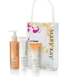 Mary Kay Satin Hands Pampering Set ~ Peach Review