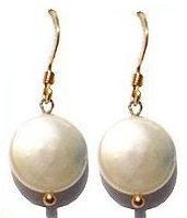 Moonbeam Fresh Water Pearl & Gold Fill Earrings