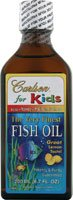 Carlson Labs Carlson For Kids Very Finest Liquid Fish Oil, Lemon, 200Ml