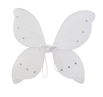 "16""x18"" Fairy Wings Butterfly Costume - White"