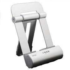 Ipega Metal Speaker Stand For Ipad Or Iphone, Compatible Iwth Iphone 3G,Iphone 4G, And Ipod Console,