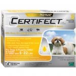 Merial Certifect for Dogs, 5-Pounds to 22-Pounds, 6-Month Supply