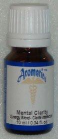 Mental Clarity Synergy Blend (Bergamot, Basil, Lemon and Grapefruit) 100% Pure Essential Oil - 10ml
