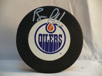Powers Collectibles 18718 Signed Ranford Bill Edmonton Oilers Hockey Puck