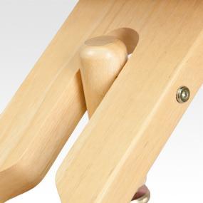 Natural Wood Frame Finish