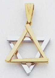 Jewish Star of David Charm - CG53