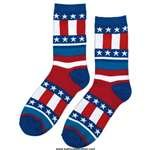 Patriotic Crew Socks 2 Count