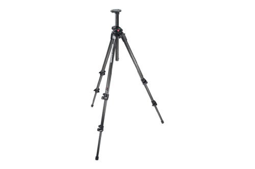 Manfrotto 190CXPRO3 3-Section Pro Carbon Fiber Tripod without Head