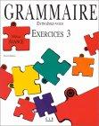 echange, troc Évelyne Sirejols - Grammaire : Exercises niveau avancé