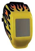 Jackson Safety 3013588 Yellow Flame Shade 10 Halo X Welding Helmet