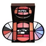SHANY 22pc Purse Size Makeup Kit -12 SHADOWS, 6 BLUSH, 3 GLOSS Color palette