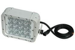 Led Light Emitter W/ Trunnion U-Bracket Mount - 16, 3-Watt Leds - 9-42Vdc - 700'L X 80'W Spot Beam (