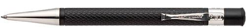 Yard-O-Led Retro Black Barley Finish Ballpoint Pen - Yd-945022