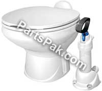 Thetford Comfortmate Manual Flush Marine Toilet
